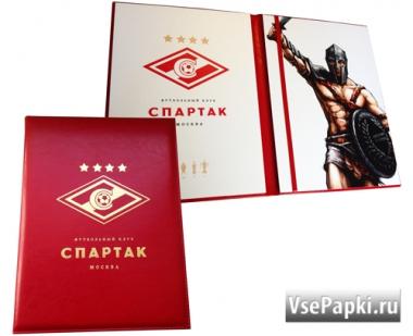 Фото: папки подарочные купить срочно V-157.Спартак