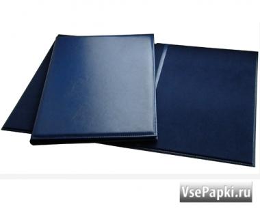 Фото: адресные папки синего цвета оптом V-157.А226