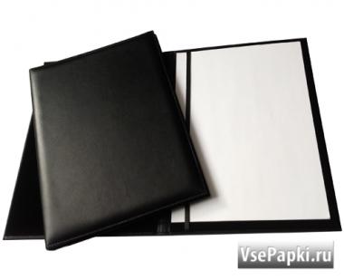 Фото: адресная папка черная кожа V-157.2.16